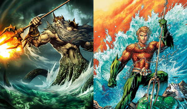 Poseidon Aquaman Justice League